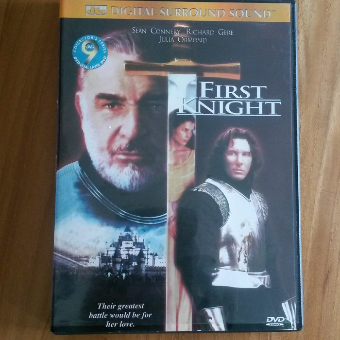 Jual Dvd Import First Knight Richard Gere Sean Connery Kab Tabanan Lucky Star Corner Tokopedia