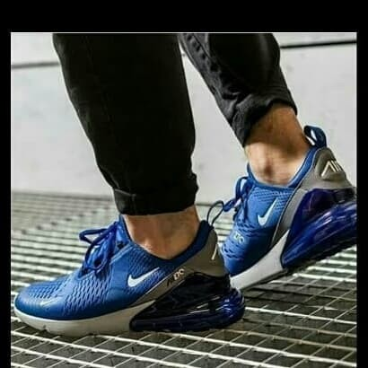Nike Air Max 270 Indigo Force. - Biru