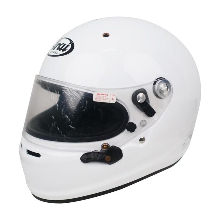 Foto Produk Arai SNI GP-6 8859 Helm Full Face - White - L dari Arai Indonesia