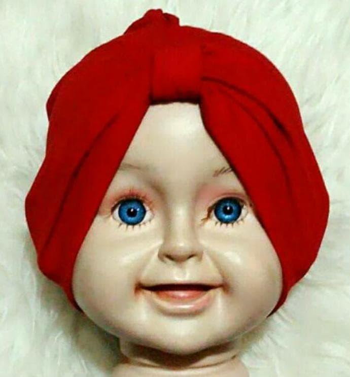 Foto Produk Turban Bayi Polos ( Tanpa Jilbab) - JB003 dari Feri Irawan shop