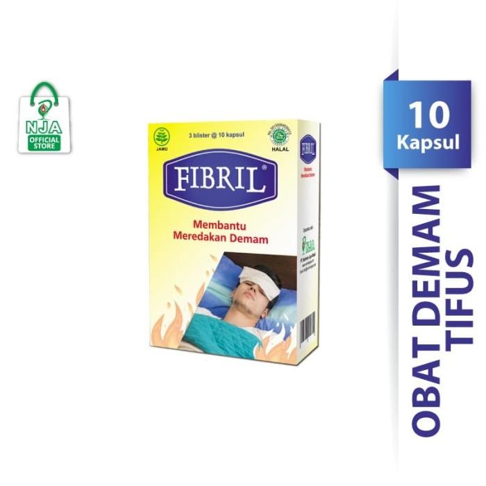 Foto Produk Fibril 3 Blister @10 kapsul (isi 30 kapsul) Obat Herbal Tipes dari Pharos Official Store