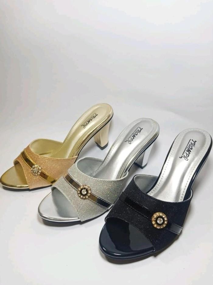 high heels dan wedges wanita 5758