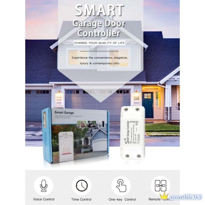 Jual Smart Garage Door Controller Smart Life App Remote Open Close Jakarta Barat Fernis Tokopedia