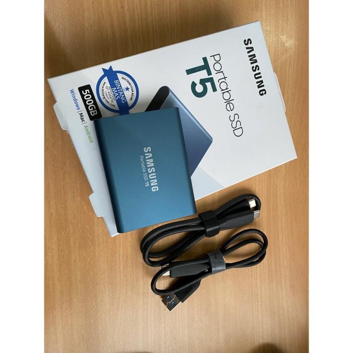 Foto Produk SAMSUNG Portable SSD T5 dari Cuan&Gold