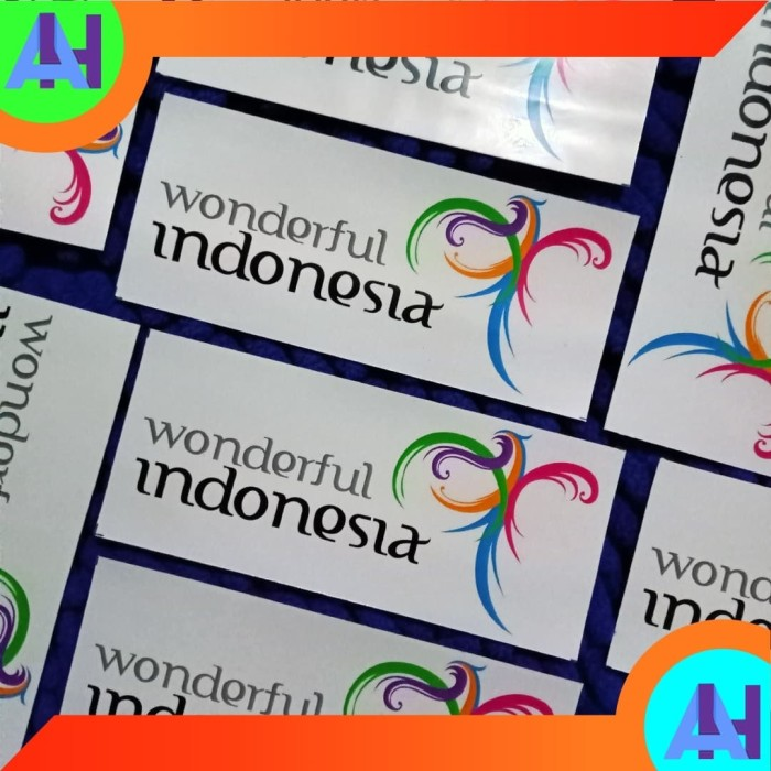 Jual Sticker Pesona Indonesia Wonderful Indonesia Background Transparan Kab Klaten Rafi Shoping Tokopedia