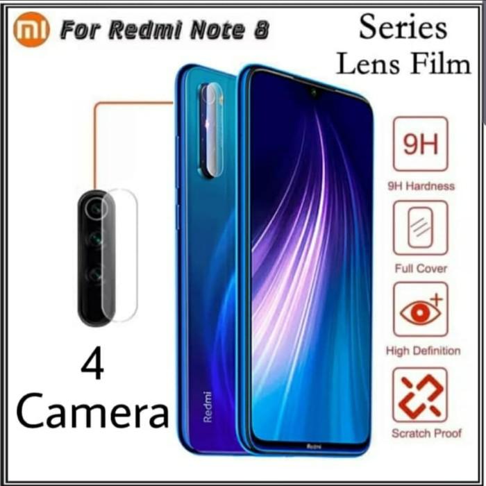 Foto Produk Xiaomi Redmi Note 8 Tempered Glass Camera Anti Gores Kamera Bening dari sense accessories
