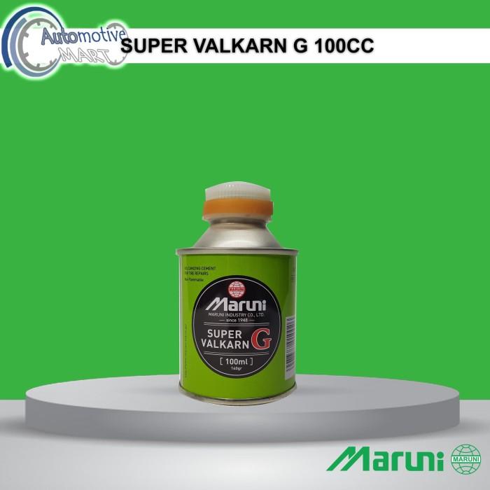 Foto Produk Maruni Super Valkarn G 100cc Lem Tambal Ban Tubles Buatan Jepang dari automotive mart
