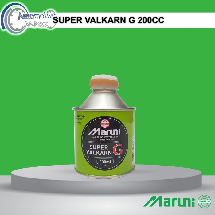 Foto Produk Maruni Super Valkarn G 200cc Lem Tambal Ban Tubles Buatan Jepang dari automotive mart