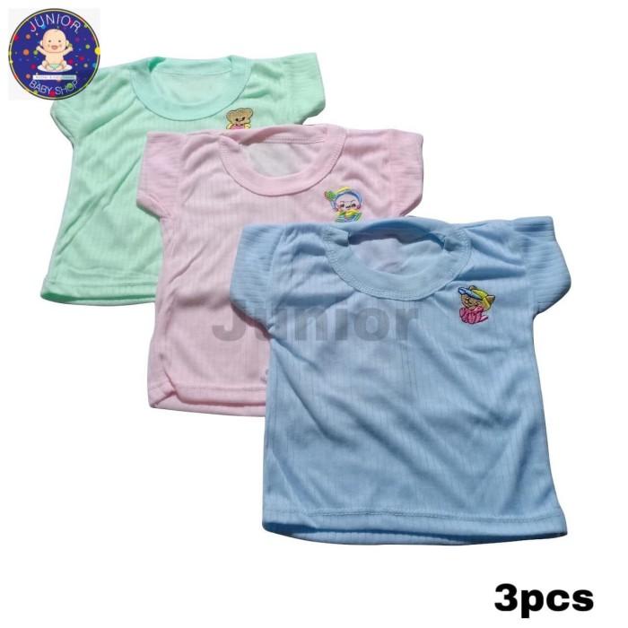 Foto Produk Paket hemat baju oblong mega isi 3PCS kaos oblong dari junior baby shop