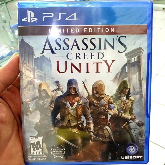 Jual Game Ps4 Assassins Creed Unity Kota Bandung Grosirgame