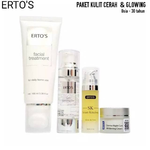Paket Ertos Untuk Kulit Berminyak Dan Berjerawat