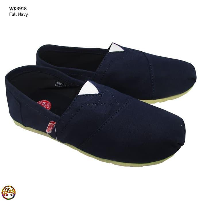 Jual Flat Shoes Model Wakai Premium