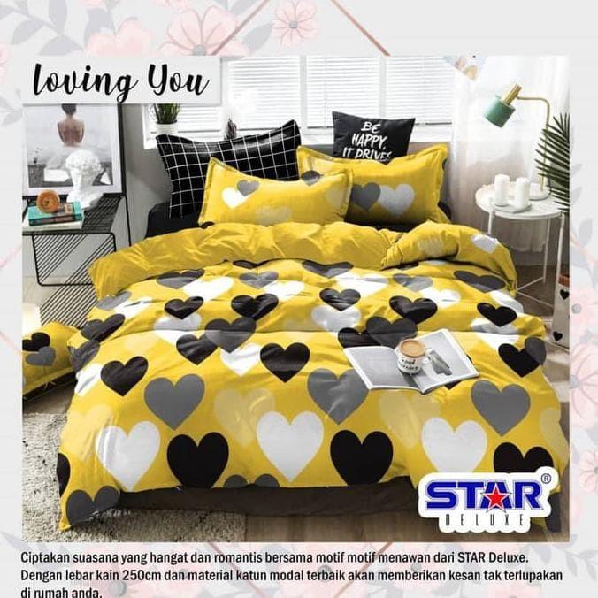 Jual Bed Cover Set Sprei Katun Super 160x200 T28cm Rafif1010 Jakarta Pusat Rafif101010 Tokopedia