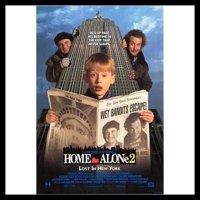 Jual Barang Bagus Dvd Film Home Alone 2 Lost In New York 1992 Top Jakarta Timur July Olshop Tokopedia