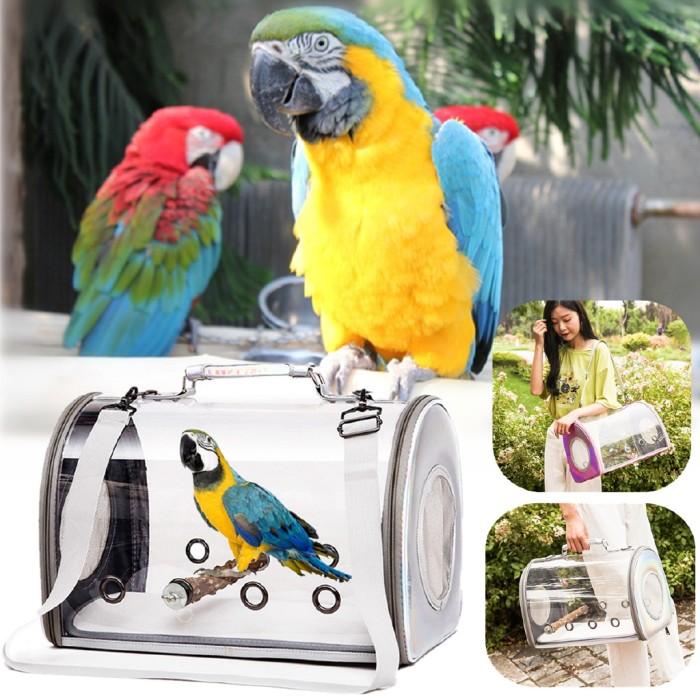 Jual Pet Parrot Bird Carrier Breathable Carring Bag Space Capsule Handbag Jakarta Barat Fernis Tokopedia