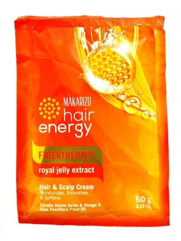 Foto Produk (47952) CREAMBATH MAKARIZO 60ML HAIR ENERGY ROYAL JELLY SACHET dari SWALAYAN MAJU BERSAMA