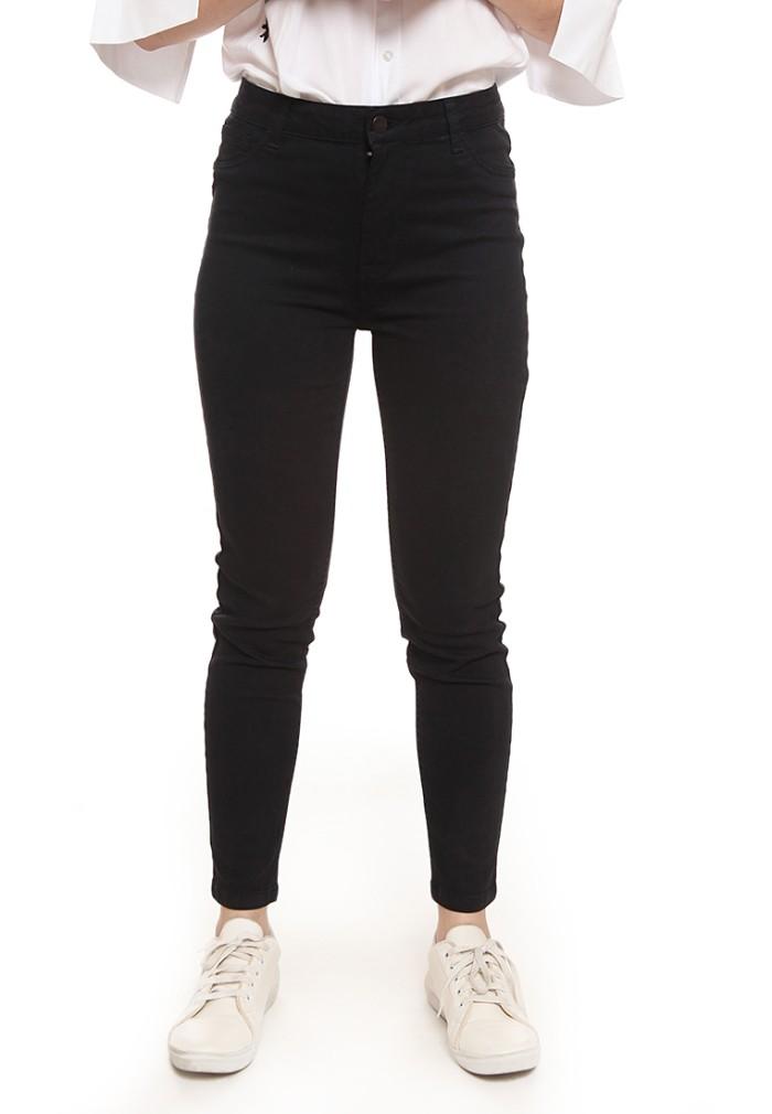 Foto Produk Colorbox Pants Basic Highwaist Pants Black I-LPDBSC500O408 - Hitam, 25 dari Colorbox Indonesia