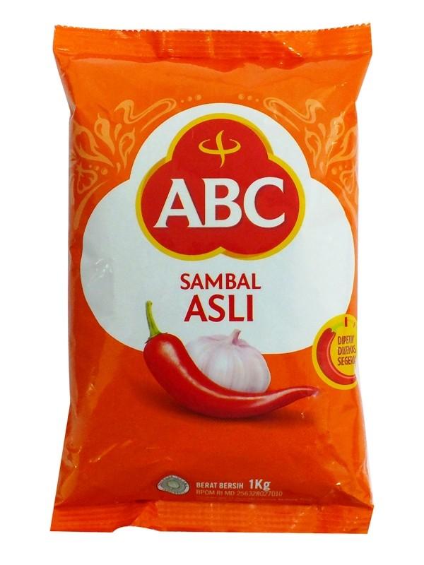Foto Produk (50669) SAUCE ABC 1KG SAMBAL PILLOW PACK ASLI dari SWALAYAN MAJU BERSAMA
