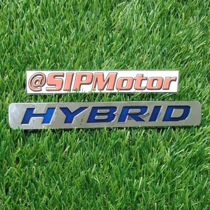 Foto Produk Emblem Logo Hybrid Toyota Honda Model Tempel dari SIPMotor