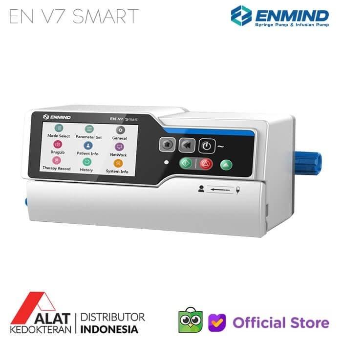 jual infusion pump enmind v7 smart waterproof design jakarta timur alat kedokteran id tokopedia