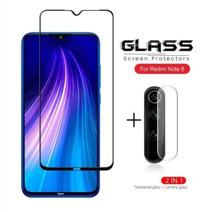 Foto Produk PAKET Tempered Glass Kamera + TG Anti Gores XIAOMI REDMI NOTE 8 dari ROTI PANGGANG OnlineShop