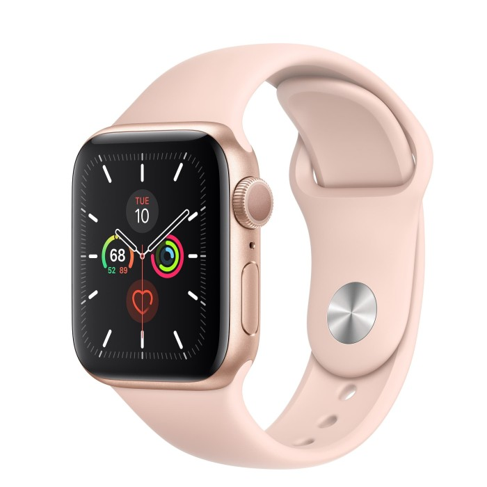 Jual Apple Watch Series 5 40mm Gold Aluminum - Pink Sport Band - Kota  Surabaya - Infinite Cell | Tokopedia