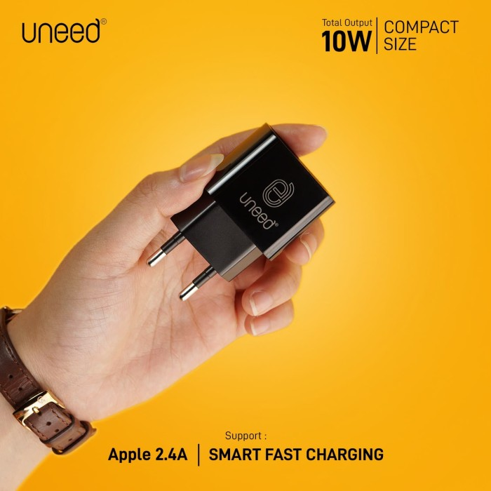 Foto Produk UNEED Dual Smart Charger Fast Charging Max 10w – UCH121 dari Uneed Indonesia