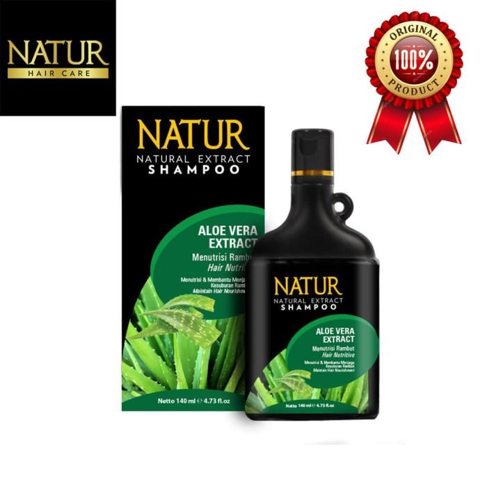 Foto Produk Natur shampoo Aloe Vera 80ml dari BCOOL