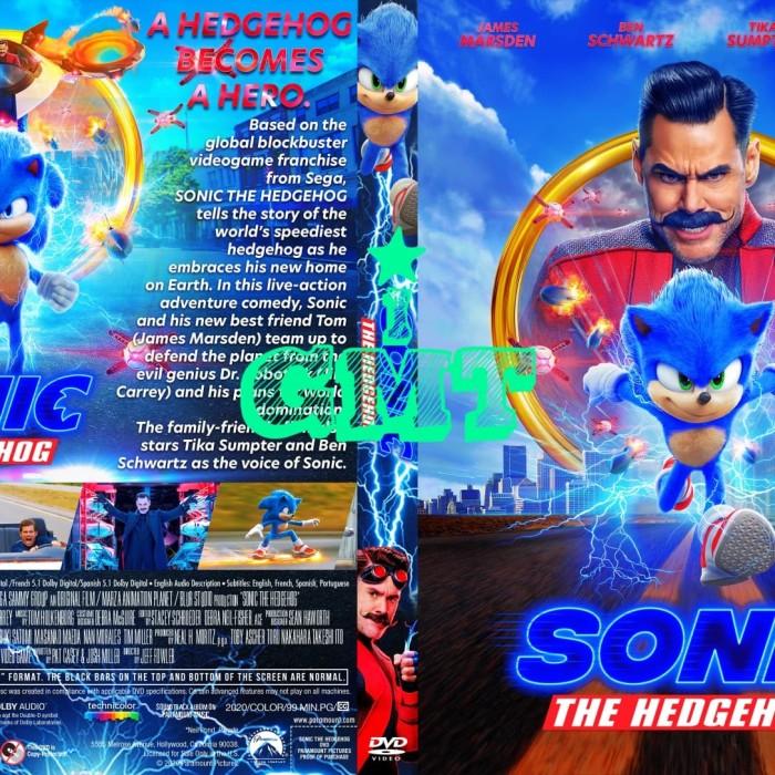Jual Film Sonic The Hedgehog 2020 720p 1080p Dvd Film Flashdisk Kota Medan Gmt Indonesia Tokopedia