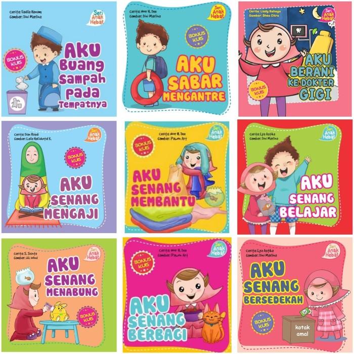 Jual Buku Seri Aku Anak Hebat Bk0040 Buku Dongeng Anak Muslim Kota Surabaya Angelaksesoris Tokopedia