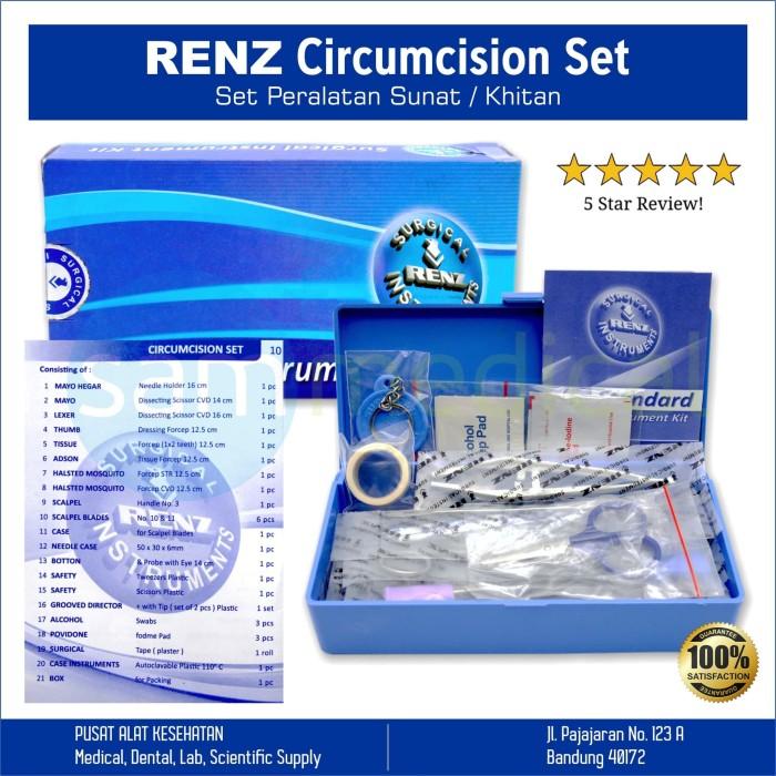 Foto Produk Renz Circumsisi Set / Sirkumsisi / Circumcision / Alat Khitan Sunat dari SAM Medical