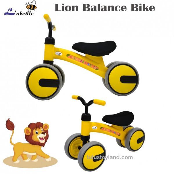 Foto Produk Labeille Balance Bike Mainan Ride On Trike Sepeda keseimbangan Anak - Kuning dari TulusToyland