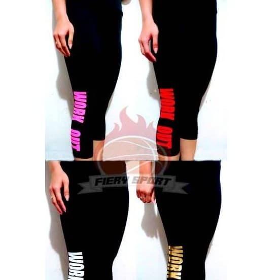 Jual Celana Legging Workout 7 8 Leging Senam Zumba Olahraga Wanita Pendek Jakarta Pusat Buma Sport Tokopedia
