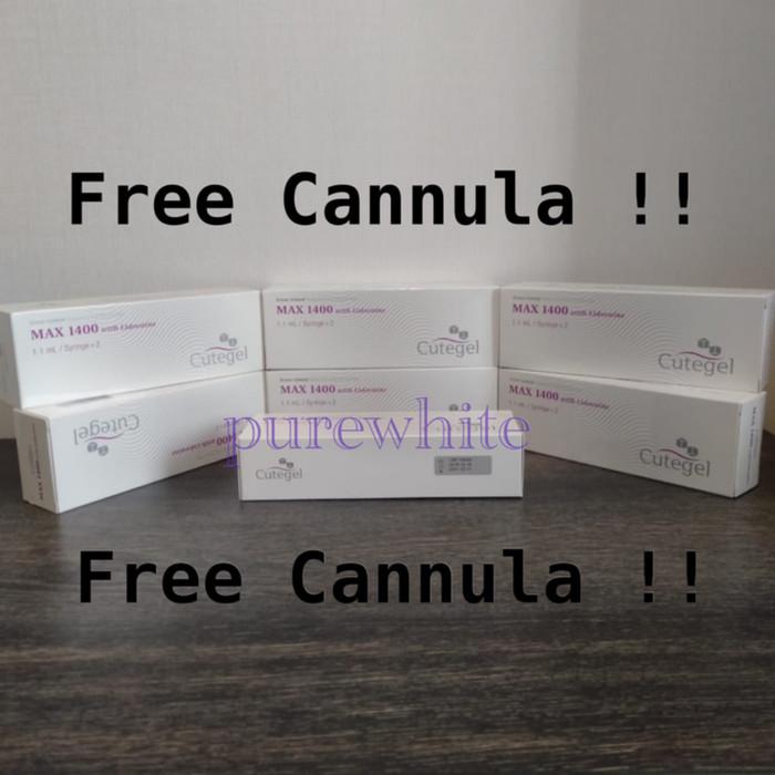 Jual Cutegel Max 1400 1 Syringe Free Cannula Kab Ogan Komering Ulu Timur Tere Rana Shop Tokopedia