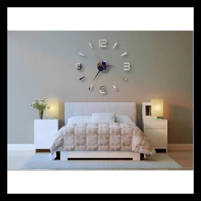 Jual Frameless Diy Small Number Wall Sticker Decoration Art Clock Kode 299 Jakarta Barat Sekarna Tokopedia