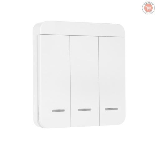 Jual G M1 2 3 Way Smart Wall Light Switch Wireless Switch No Hub Jakarta Pusat Degan7 Tokopedia