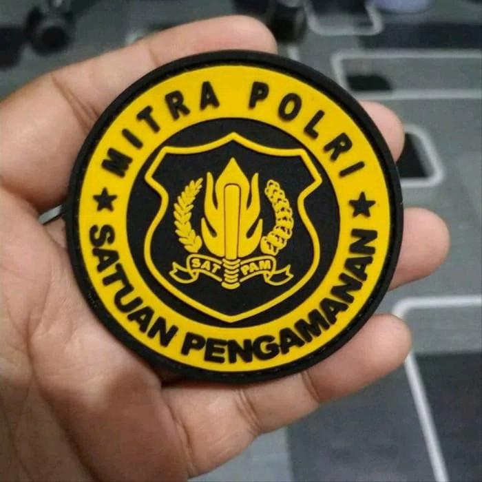 Jual Patch Rubber Logo Security Emblem Velcro Satpam Kota Bandar Lampung Fakhruddin11 Tokopedia