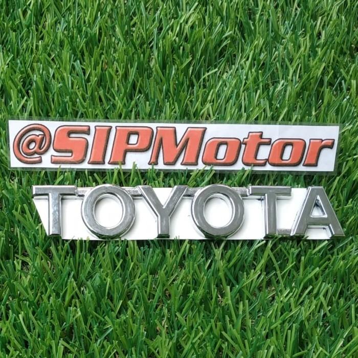 Foto Produk Emblem Logo Tulisan Toyota dari SIPMotor