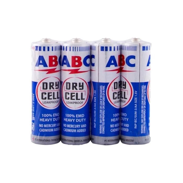 Foto Produk Baterai ABC Kecil / AA / R6P 1 set isi 4 pcs dari Groceran Stationary