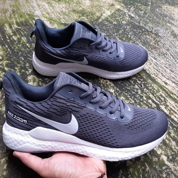 Jual Sepatu running nike zoom - Biru