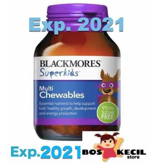 Foto Produk Blackmores superkids MULTI chewable multichewables chewables tablets dari BosKecilStore