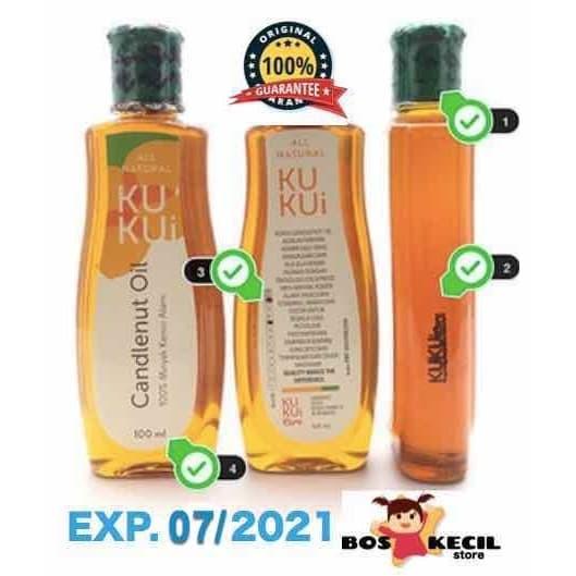 Foto Produk Minyak Kemiri Kukui Oil Original (Penyubur Rambut) dari BosKecilStore