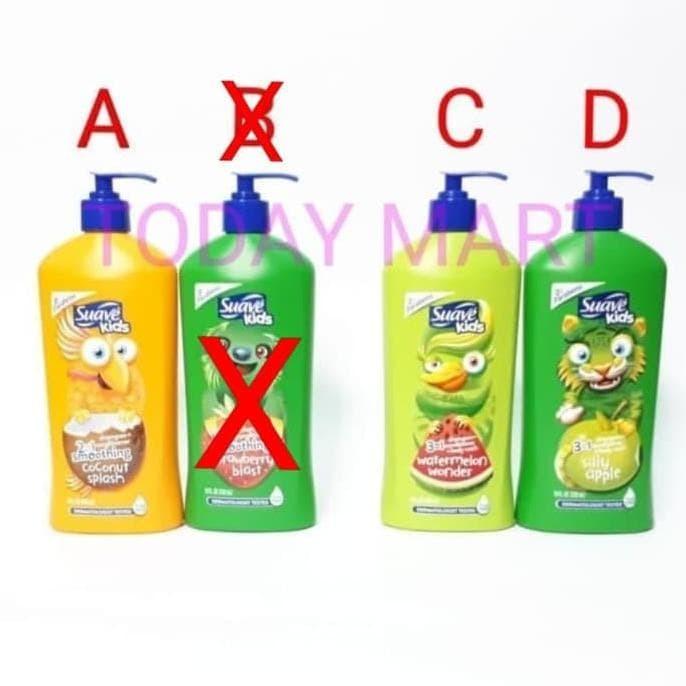 Jual Promo Suave Kids 2in1 Shampoo Conditioner 532ml 18fl Oz Best Jakarta Barat Faranisa Olshop1 Tokopedia