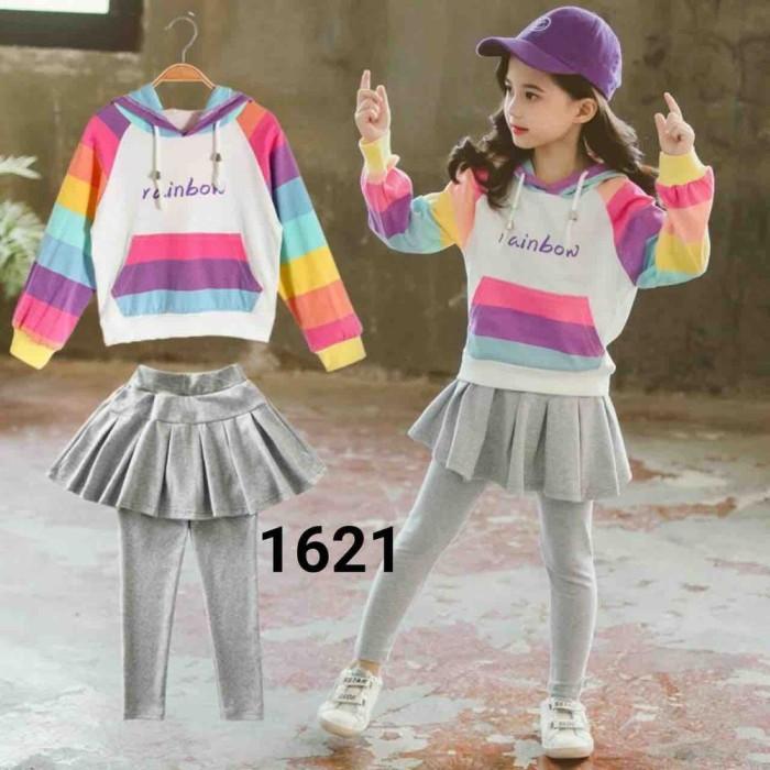 Foto Produk Stelan rainbow lady 1621 anak import dari Sayid11