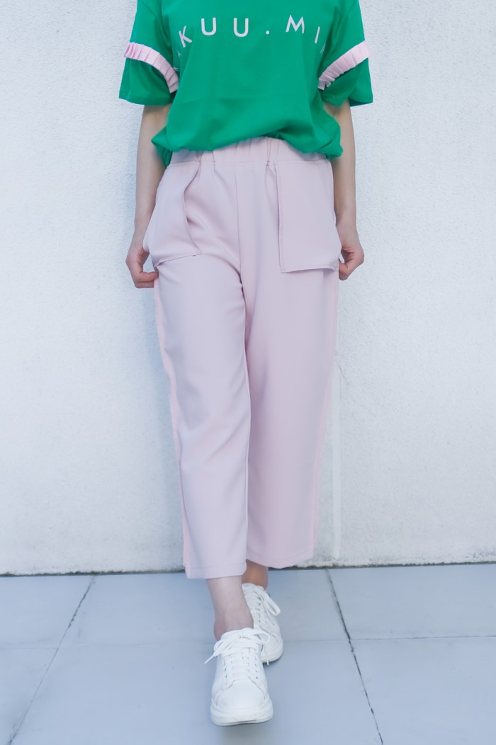Foto Produk Kakuu Basic - Straight Cut Crop Pants dari Kakuu Basic