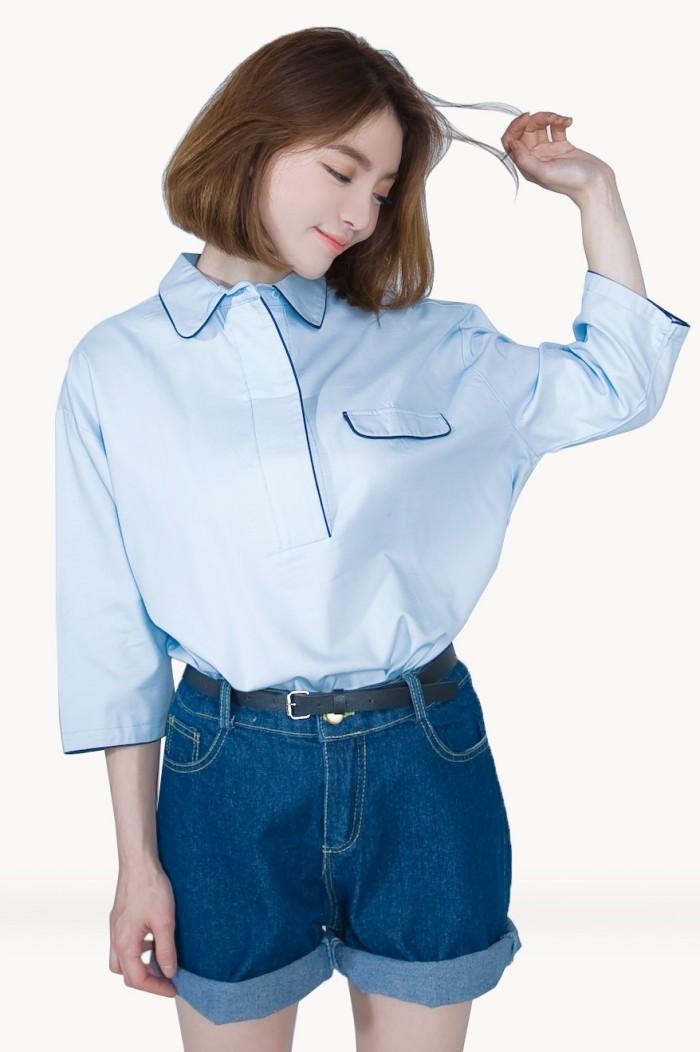 Foto Produk Kakuu Basic - Button Up Loose Shirt dari Kakuu Basic