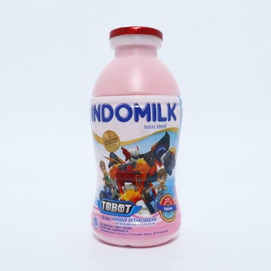 Foto Produk Indomilk Botol Strawberry 190 ml dari Deny Irmawan