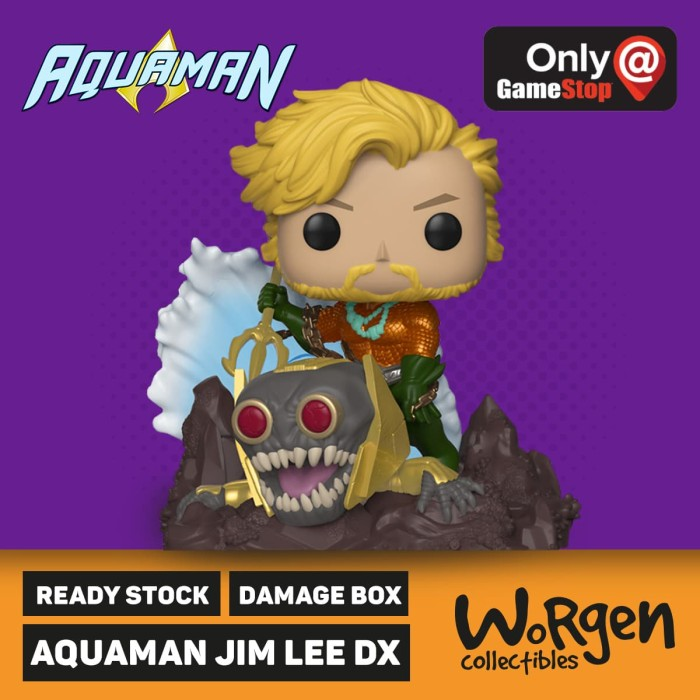 Foto Produk Funko Aquaman Jim Lee Edition DX- Gamestop Exclusive dari worgen.id