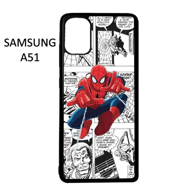 Foto Produk Case Custom Casing Samsung A51 Softcase Motif Superhero Spiderman 13 dari CarstenEzio