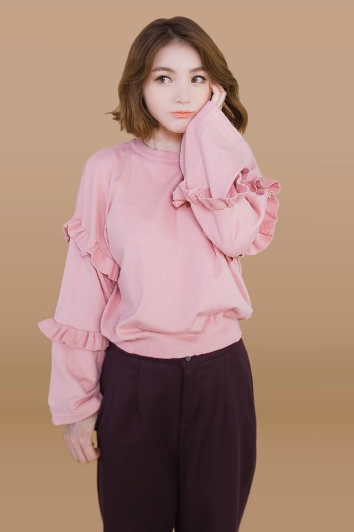 Foto Produk Kakuu Basic - Wide Sleeve Pullover dari Kakuu Basic